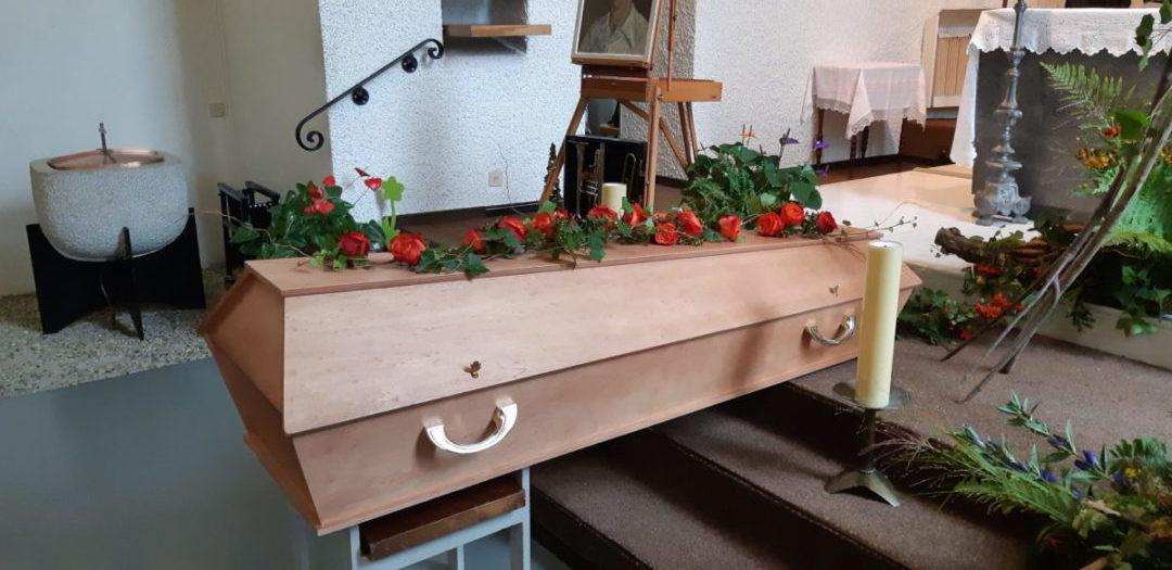 Articles funéraires - cercueil